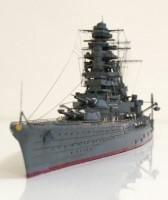 解説:アオシマの1/700戦艦陸奥をフライホークの長門用エッチングでディテールアップ/制作:K-5(@battleship_5)