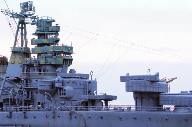 作品名:1/700 旧日本海軍重巡洋艦「青葉」 製作:R工廠