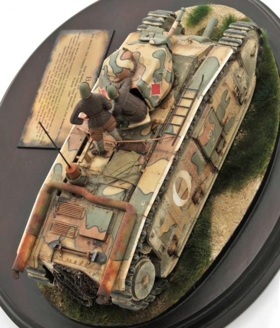 作品名:【1/35】B1 bis    Tank Number 205