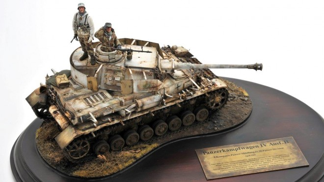 作品名:【1/35】Panzerkampfwagen IV Ausf.D     8.Kompanie, Panzer-Regiment.5, 21.Panzer-Division  October 1941/制作:吉岡和哉