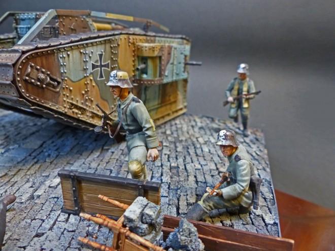 作品名:ドイツ内乱期1919年(第25回キヤコンテスト・モデルアート賞) 製作:大塩恒平