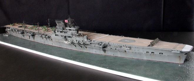 作品:1/300 航空母艦「大鳳」フルスクラッチ  制作:けんちっく