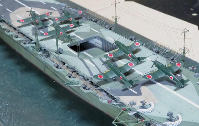 作品:1/350 航空母艦「伊吹」セミスクラッチ  制作:けんちっく