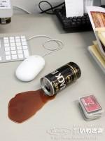 『「あっ!!」こぼれたコーヒー』(税込864円)を使ったおもしろ画像