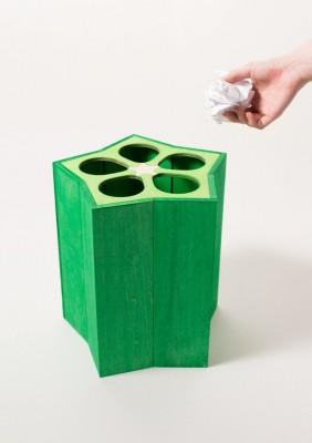 ボツネタを捨てるのにぴったり『オクラ入りゴミ箱』