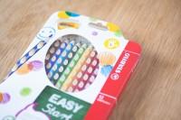 『STABILO Easy colors 色鉛筆 12色セット・左手用(左利き用)』(税込3240円)