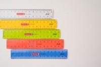 『BRUNNEN 「flexi」15cm定規(左右兼用)』(税込280円)