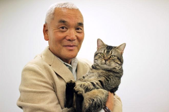 映画『ねことじいちゃん』岩合光昭氏とベーコン