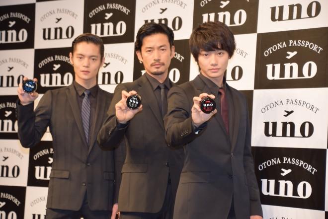 (写真中央)竹野内豊 (C)ORICON NewS inc.