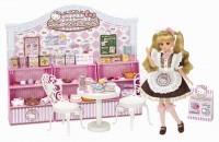 ハローキティ45周年記念! リカちゃんがキティちゃんのカフェをオープン(C) TOMY (C) 1976, 2019 SANRIO CO., LTD.TOKYO,JAPAN(L)