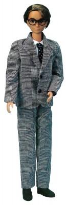 平成元年(1989年)に発売されたリカちゃんの初代パパ (C)TOMY