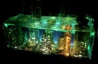 最新作の水の中の夜景