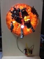 爆発の瞬間を見事に再現した『命の炎 —彼方からの一撃—』製作工程