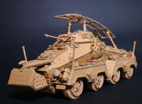 ドイツ軍 8輪装甲車