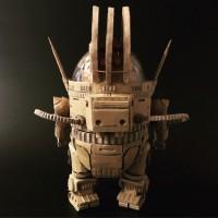 『宇宙戦艦ヤマト』ダンボール AU-09アナライザー(背面)