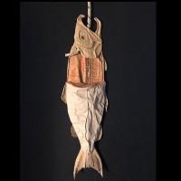 ダンボール鮭