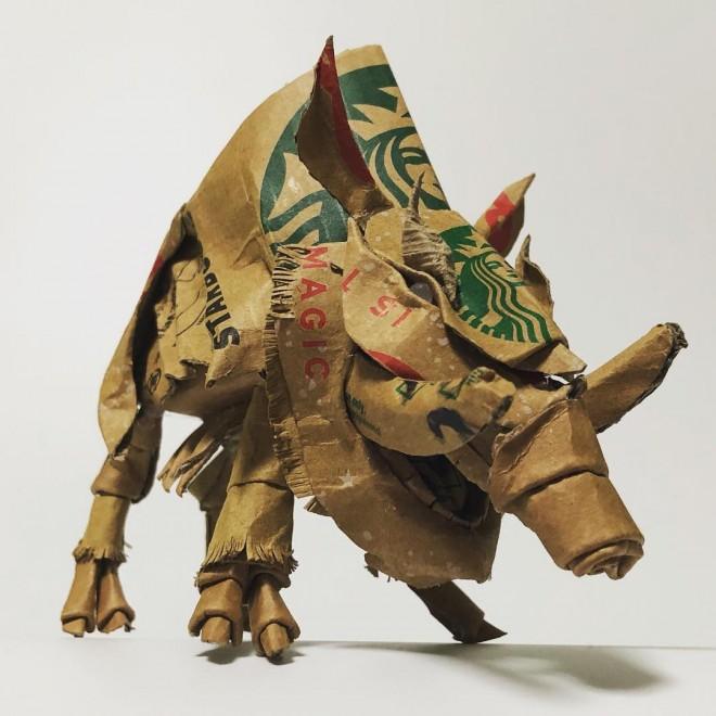 空想の獣・猪