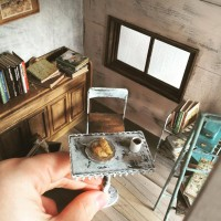【クロワッサンの朝食】制作&写真/中川さえ