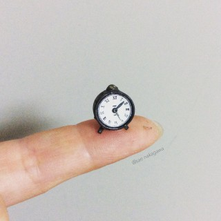 【置時計】制作&写真/中川さえ