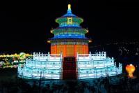 『チャイナランタンフェスティバル』で展示されている「天壇」