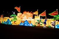『チャイナランタンフェスティバル』で展示されている「天下第一雄関」