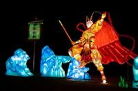 『チャイナランタンフェスティバル』で展示されている「斉天大聖」
