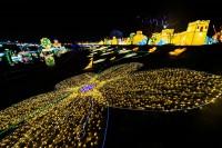 『チャイナランタンフェスティバル』で展示されている「黄色仙女」