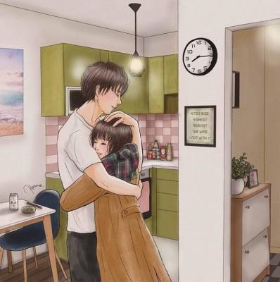 『優しいすれ違い』 (画像提供:平泉春奈さん)