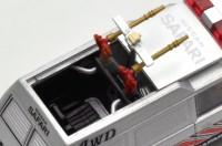 屋根が可動する専用金型、LV-西部警察 vol.19 サファリ4WD(2015年12月/税抜1万5800円)