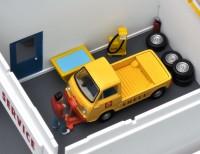 トミカラマヴィンテージ02a ガソリンスタンド(シェル)(2011年8月/税抜7800円)