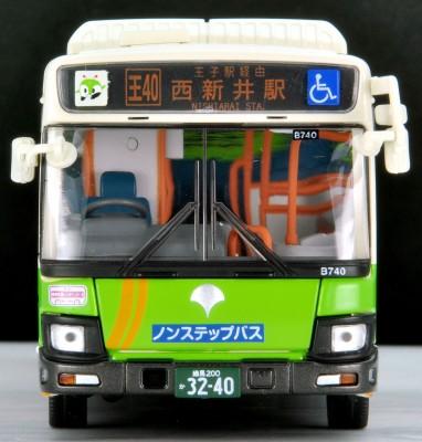 本当にバスに乗っているような再現力『いすゞエルガ(東京都交通局)』
