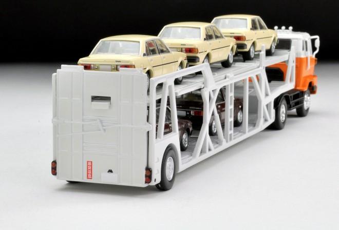 LV-N89d 日野カートランスポーター(白/オレンジ)(2019年2月/税抜1万5000円)