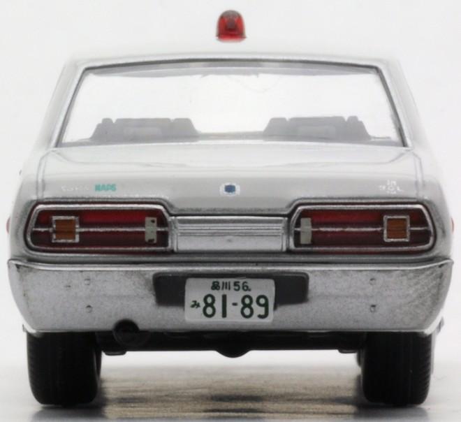 反転式赤色灯が採用、特捜最前線02 グロリア2000SGL(白)(2015年2月/税抜2400円)