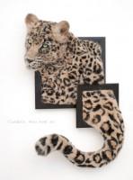 羊毛フェルト 『豹と豹柄』