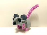 豚のセットで作ったネズミ