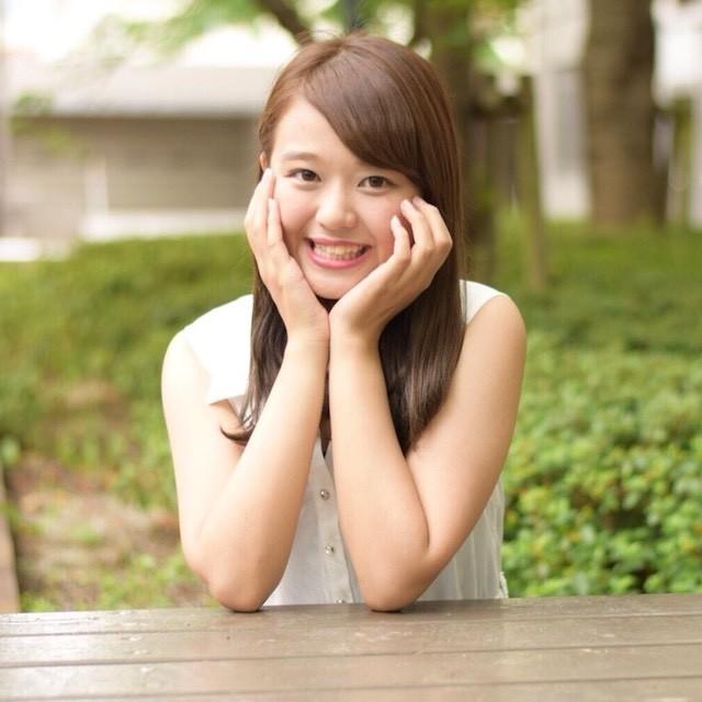 ミス松山大学・西坂麗花さん