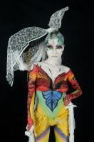 『ボディデコレーションアートショウ2011』での渡邉さんの作品