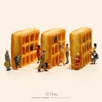 """『Library Waffle』どの本も""""菓子""""出しOK 2018.12.13"""