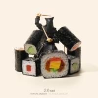 『Sushi Roll? Drum Roll!』ノリノリの演奏 2019.2.6