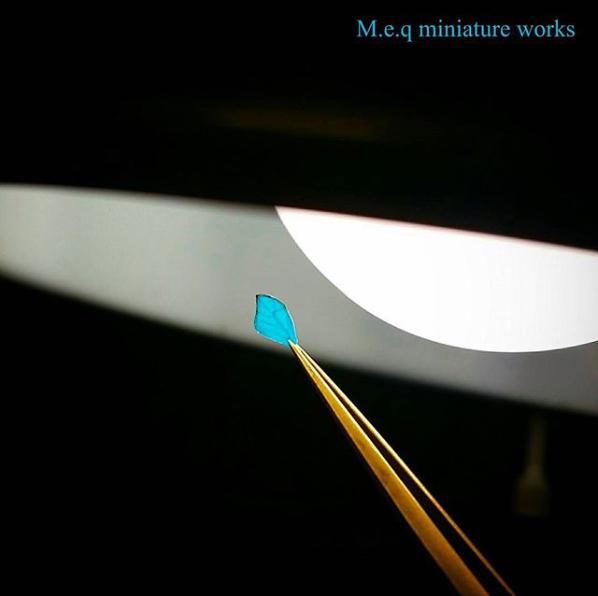 【蝶のハネ】制作&写真/meq