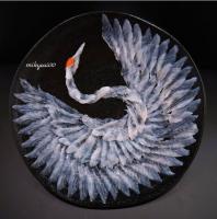カワハギの【鶴造り】2。制作&写真/mikyou