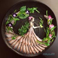 イサキで作った【木の精】。制作&写真/mikyou