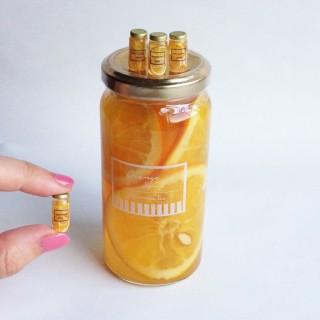 自身のお気に入り「オレンジシロップ」。制作&写真/fraise