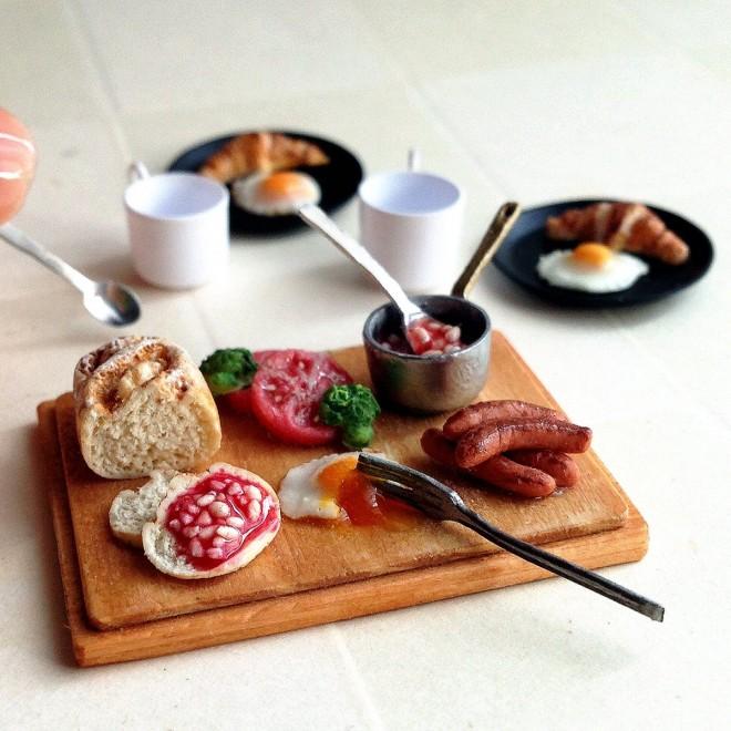 【ベイクドビーンズの朝食セット】制作&写真/fraise
