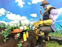 THANOS's Infinity Farm小さいけれど、なんでも作れる畑ができました。(3/4)