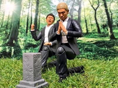 「あれから一年…浜田がずっとそばにいるような感じがする。見守ってくれとんのか…ありがとな、浜田…。」作:おとんさん