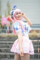 『アニメジャパン2019』コスプレイヤー・ジュノさん<br>(『すーぱーそに子』)