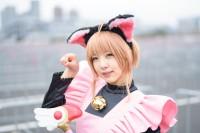 『アニメジャパン2019』コスプレイヤー・ころ助さん<br>(『カードキャプターさくら』木之本桜)