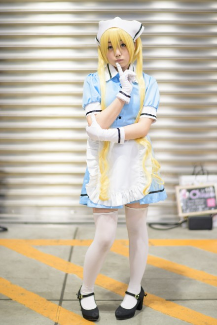 『アニメジャパン2019』コスプレイヤー・Chiusaさん<br>(『ブレンド・S』日向夏帆)