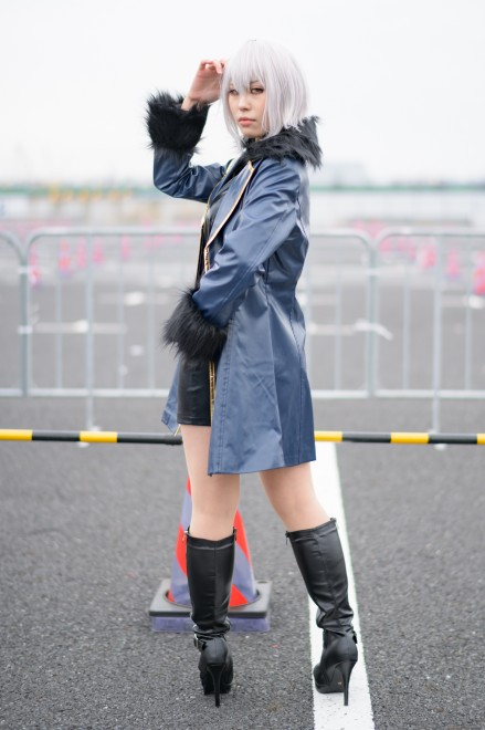 『アニメジャパン2019』コスプレイヤー・ukiさん<br>(『FGO』ジャンヌ・ダルク(オルタ)新宿)